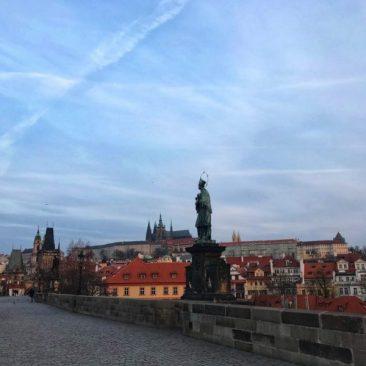 Prague Castle View From Charles Bridge