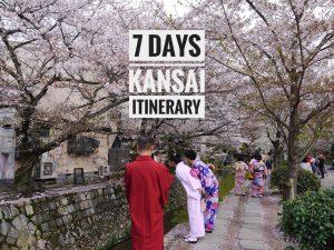 7 Days Kansai Itinerary