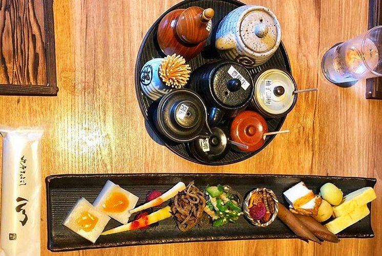 Appetizer in Yufu Mabushi Shin