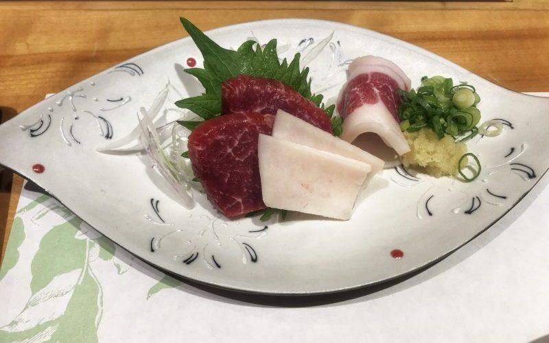 Basashi from Suganoya Kamitori Kumamoto