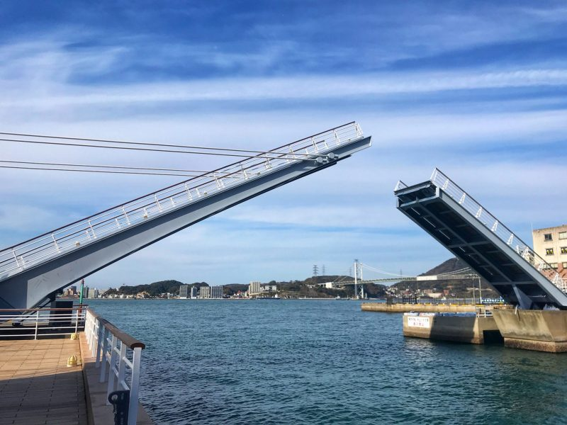 Blue Wing Moji Bridge