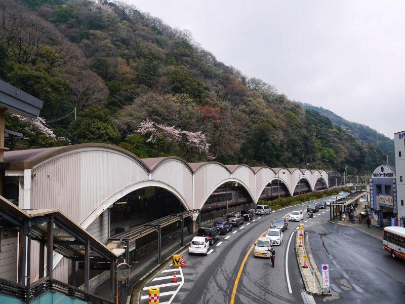 Getting to Ichinoyu Honkan from Hakone Yumoto by bus