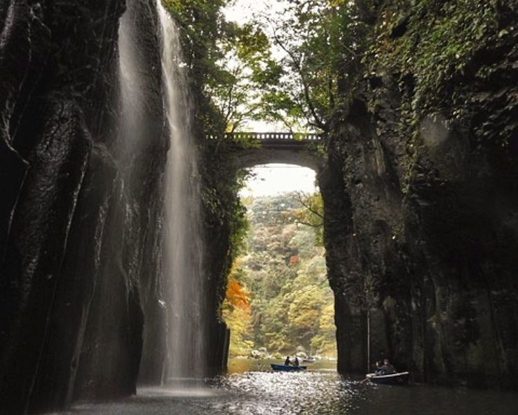 Different angle of Takachiho Gorge