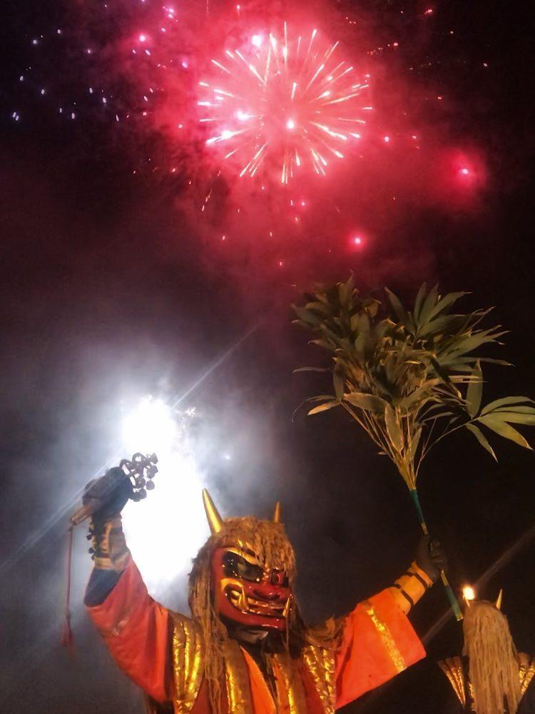 Firework Show in Noboribetsu