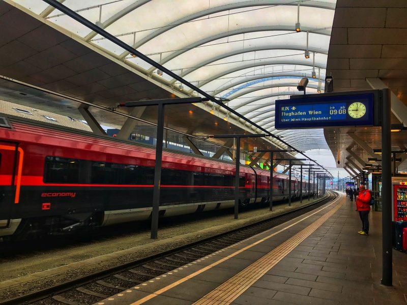 Getting To Vienna From Salzburg By Train