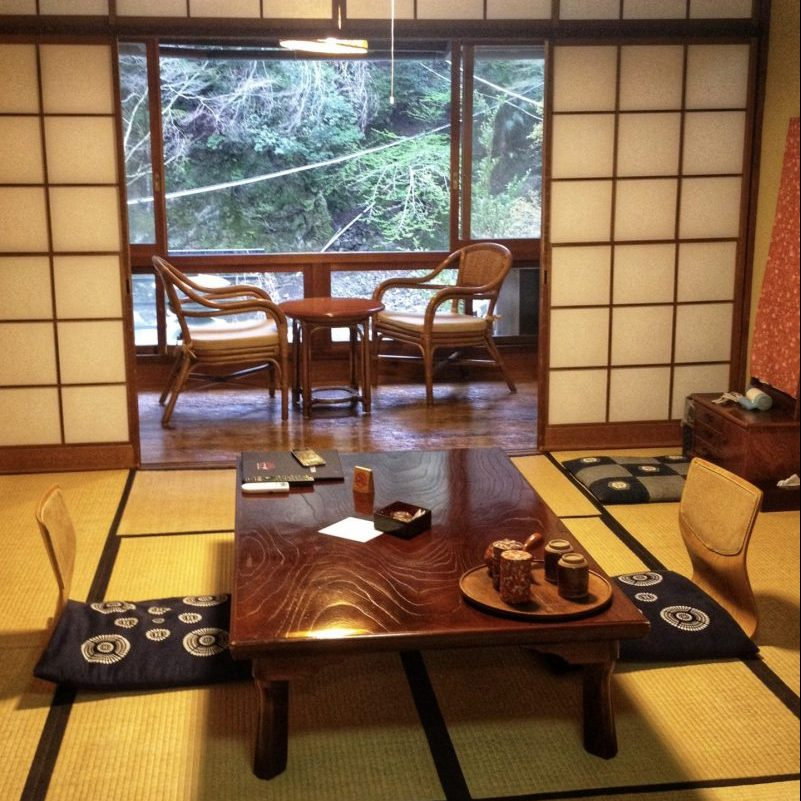 Our Japanese design room in Ichinoyu Honkan