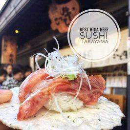 Kottegyu Hida Beef Sushi