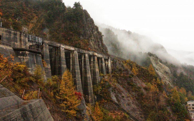 Kurobe Dam Observation Deck