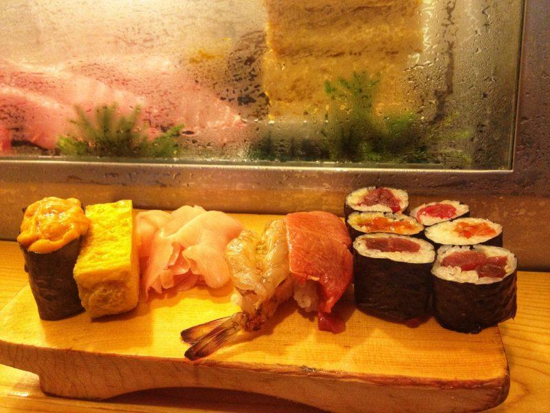 Omakase set from Daiwa Sushi
