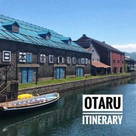 Otaru Itinerary