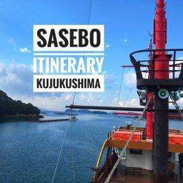 Sasebo Itinerary