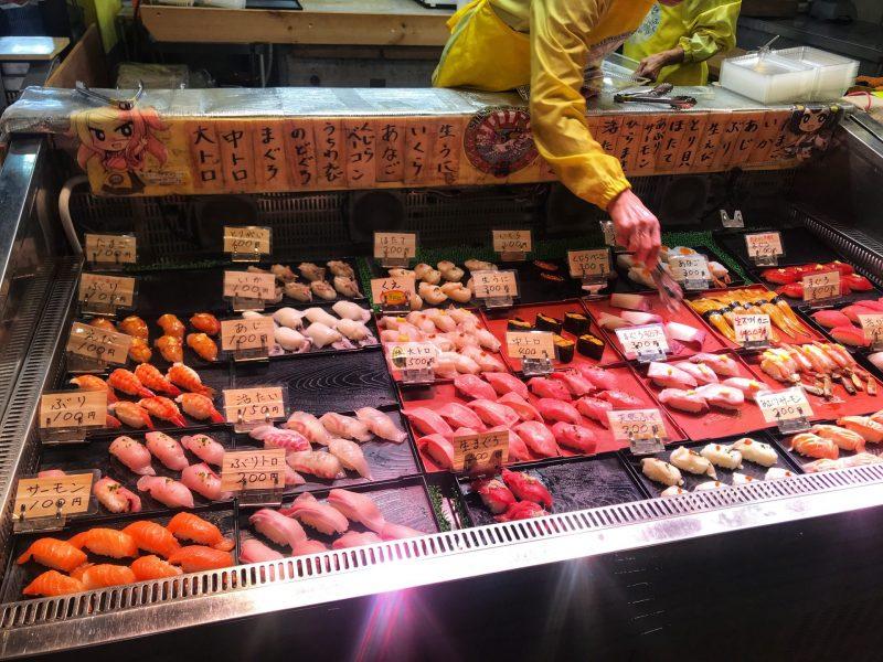Sushi Feast in Karato Market