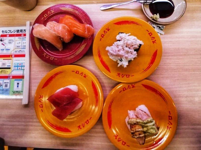 Sushiro - Tokyo Cheap Sushi