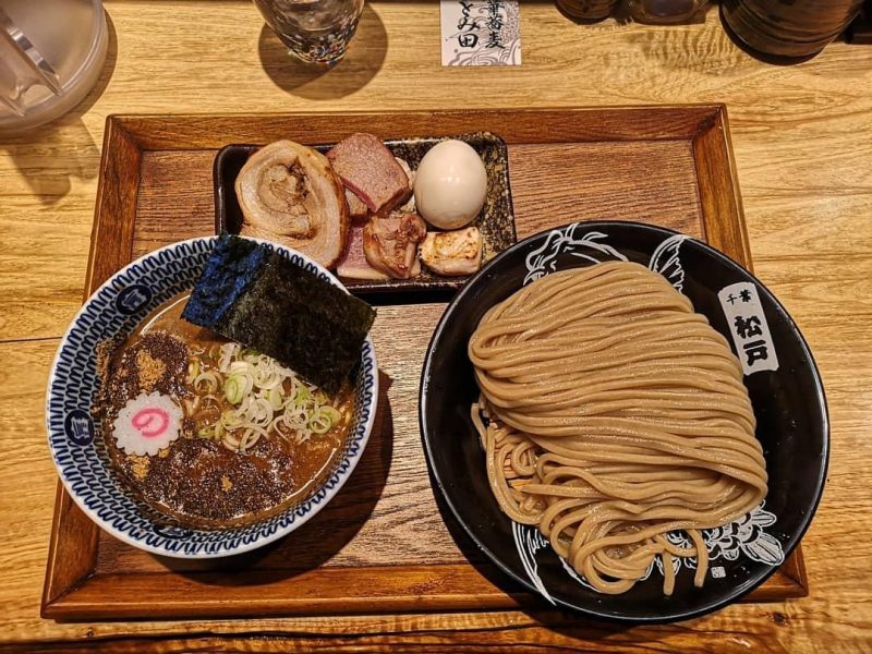 Tokyo Best Tsukemen at Chuka Soba Tomita Ramen