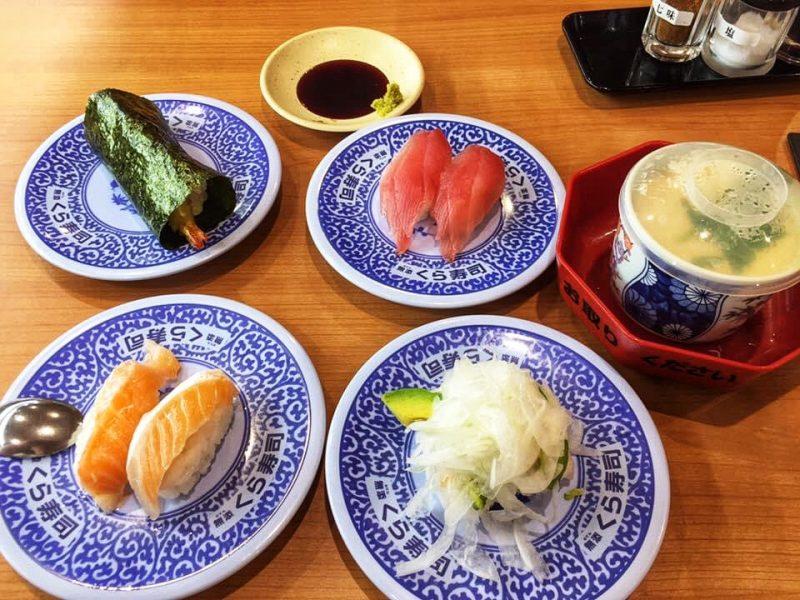 Tokyo Budget Sushi - Kura Sushi