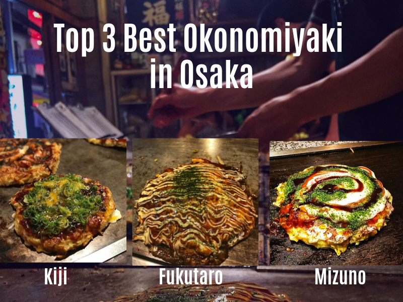 winkel goede pasvorm hete verkoop online Top 3 Best Okonomiyaki in Osaka: Kiji, Fukutaro, Mizuno ...