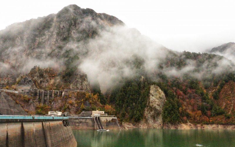 View at Kurobe Dam